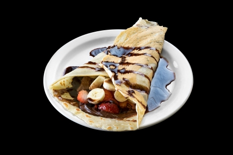 Crepe(Banana,Strawberry and Nutella)........ $7.49