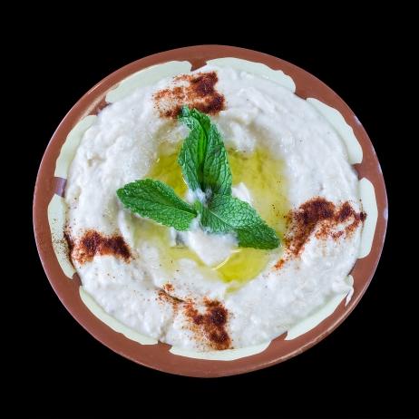 Baba Ghanooj (Mashed Egg Plants).... $6.00