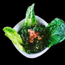 Taboli (Parsley, Tomatoes, Onions, Lemon Juice......) ...... $5.50