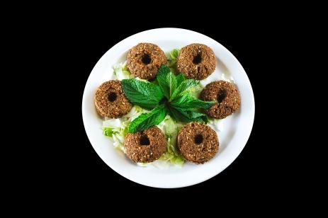 Falafel (Chickpeas,Cilantro,G.Onions...)..... $4.99