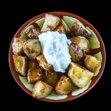 Garlic Flavored Potato.... $3.30