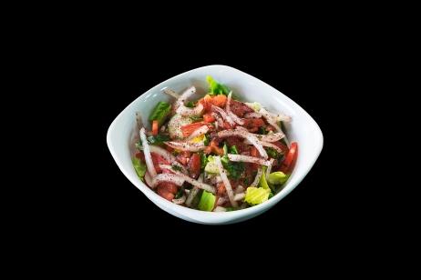 Fattoosh(Salad W/Lebanese Dressing)..... $4.49